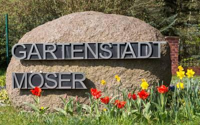 Stein Gartenstadt Moeser © Gemeinde Möser