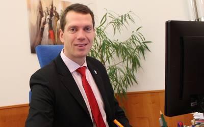 Landrat Dr. Steffen Burchhardt © Landkreis Jerichower Land
