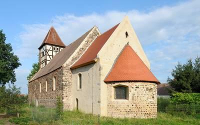 Dorfkirche Rosian © Pfarramt Loburg