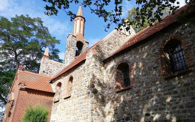 Kirche Hohenwarthe © Landkreis Jerichower Land