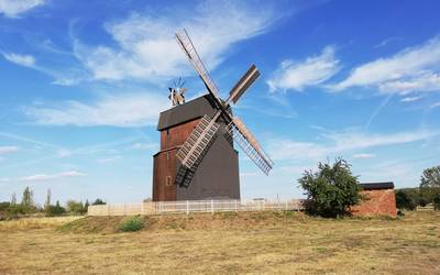 Paltrockwindmuehle in Parey © Landkreis Jerichower Land
