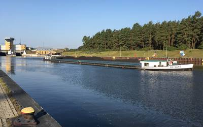 Elbe-Havel-Kanal bei Hoenwarthe © Landkreis Jerichower Land