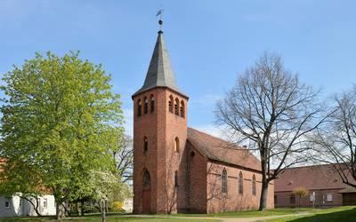 Schinkelkirche Kleinwusterwitz © Pfarramt Loburg