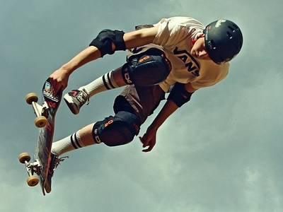 Skateboarden © Pixabay